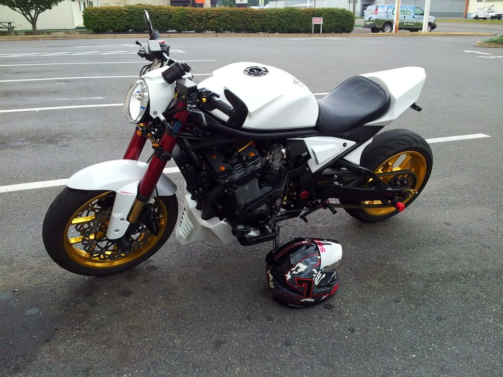 CamBandit17's 05 Bandit 1200 *GOLDFINGER* - Page 68 - Custom Fighters - Custom Streetfighter Motorcycle Forum