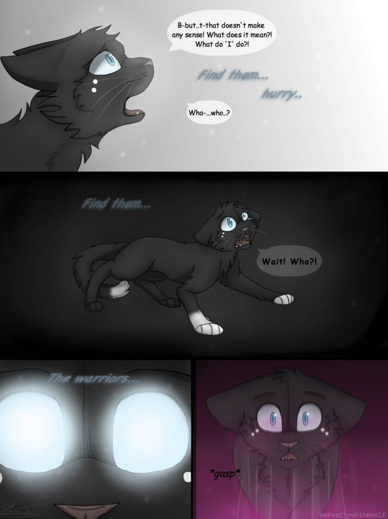 Warriors- Eyes of a Raven- Page 49 Next: E.O.A.R - Page 50 Previous