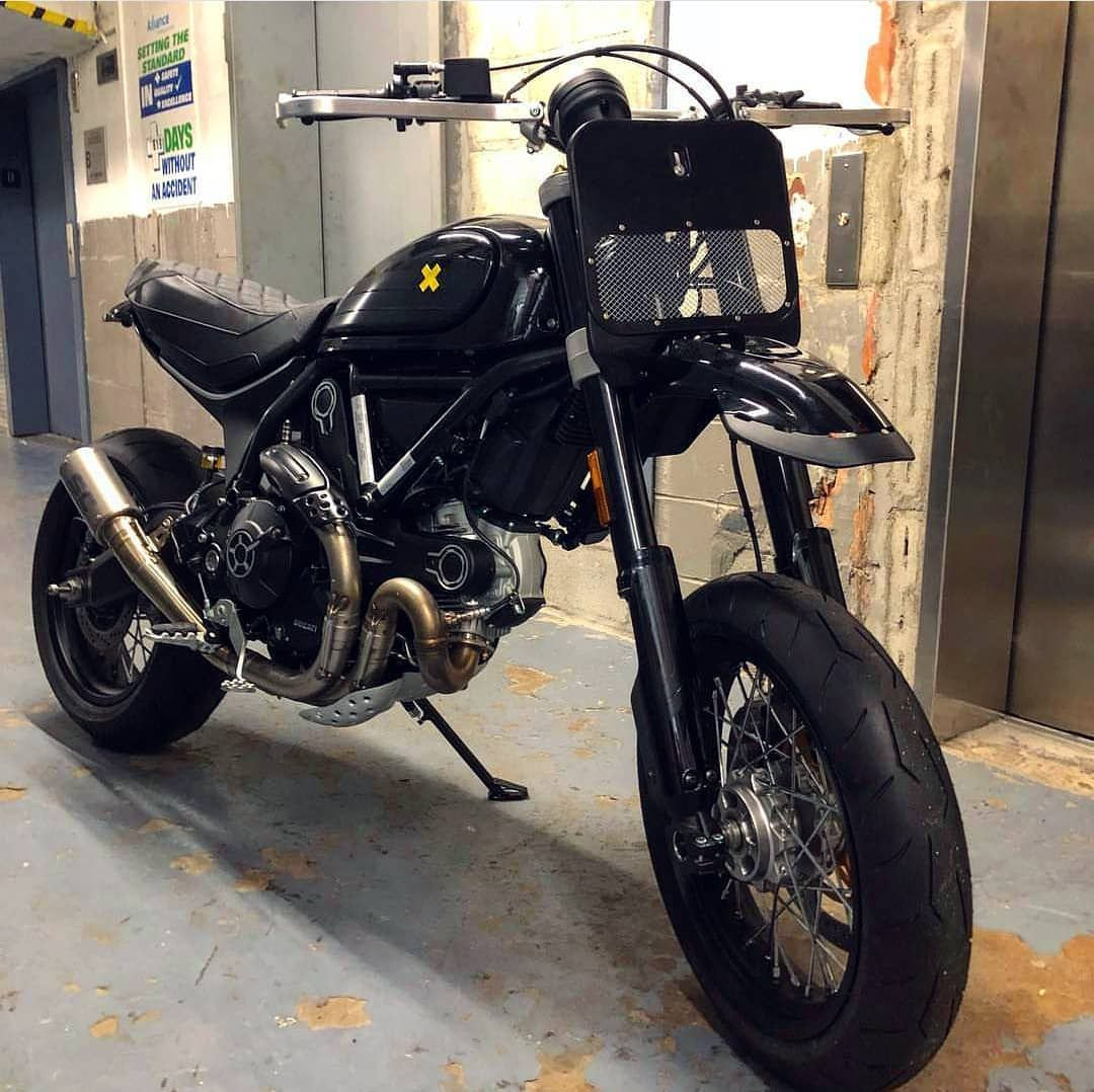 Another Desert Sled to a supermoto conversion  I see @ohlinsusa