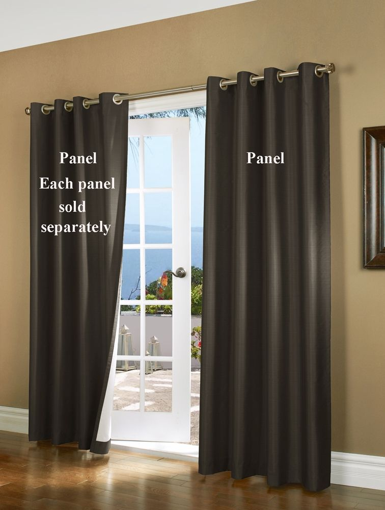 Horizon Insulated Blackout Grommet Curtain Panel - Thermaplus