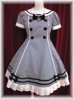Angelic Pretty Sailor Lolita Marine Stripped Story