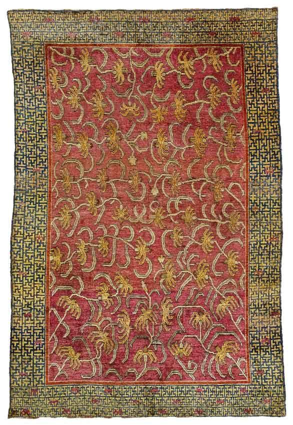 Van Ham Carpets Tapestries 5 December 2014 Seidenteppiche Teppich Silke