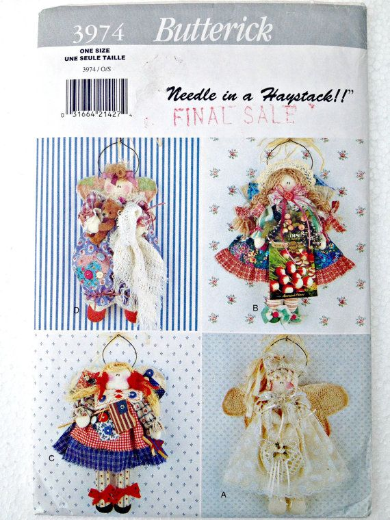 An Angel for All Occasions Wall Hangings by stitchingbynumbers, $6.49