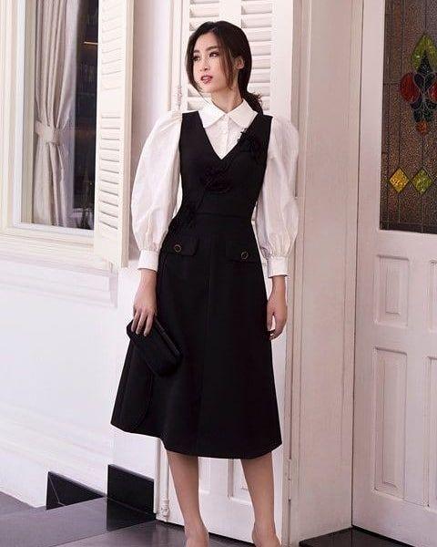 Girl classic wear vintage style autumn 2020 gentle k-pop amazon vsco school