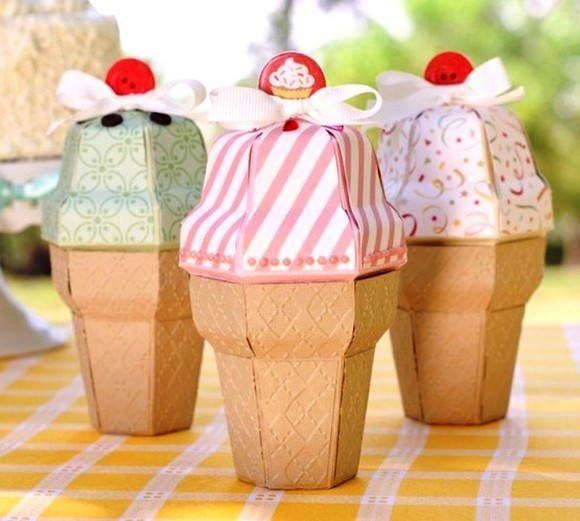 Brinco cute ice cream papier carton carton et bo tes for Diametro nominal e interno ou externo