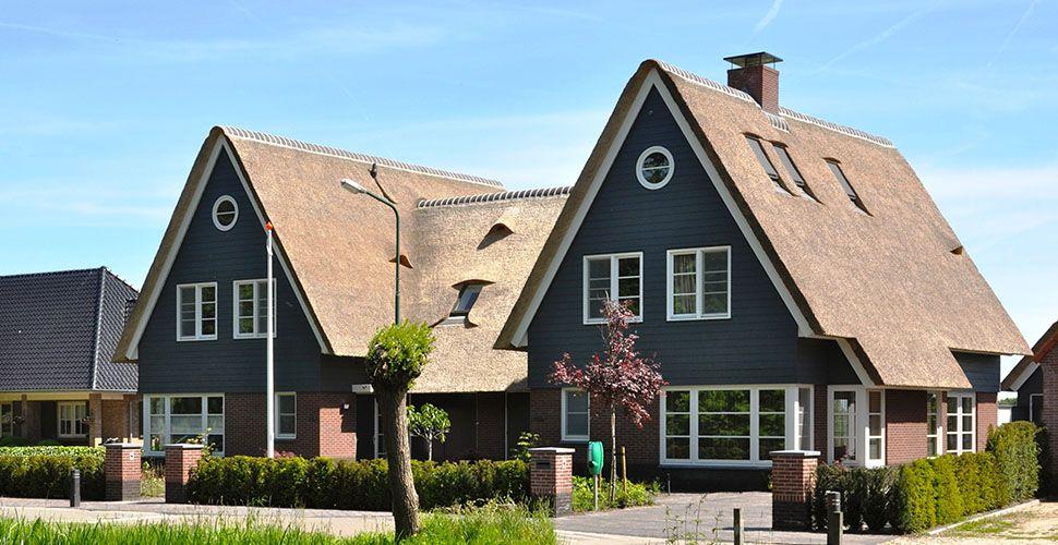 2 onder 1 kap woning bouwen selekthuis huizen for Huizen moderne stijl
