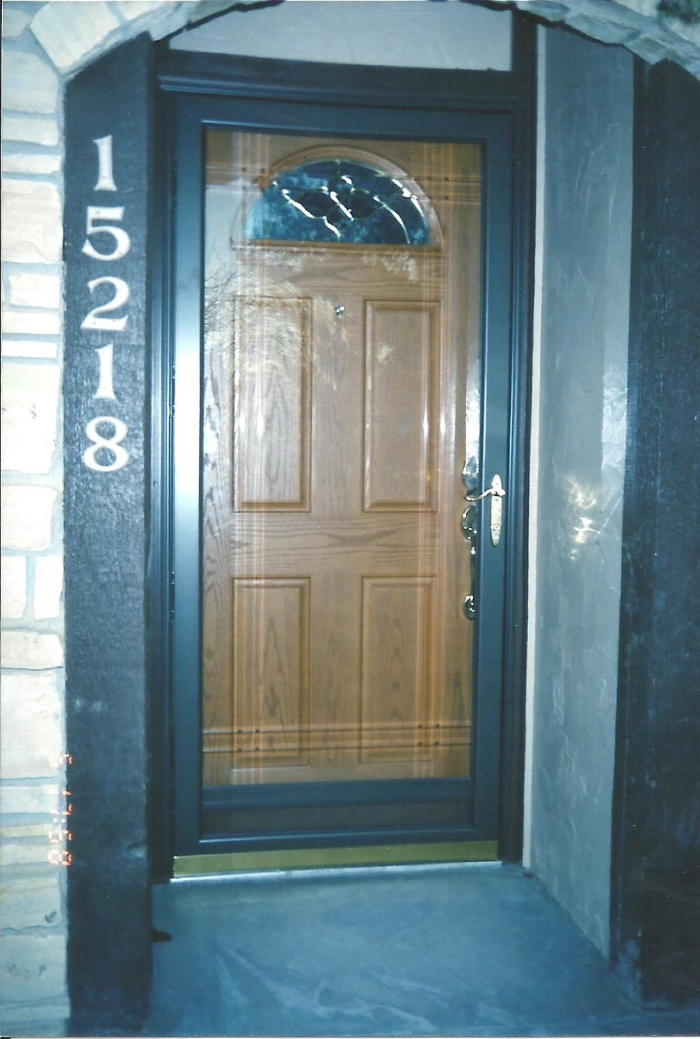 Front Entry Door Replacement Fully Finished Fiberglass With