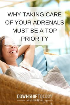 Why taking care of your adrenals must be a top priority. #adrenalfatigue #paleo #wellness