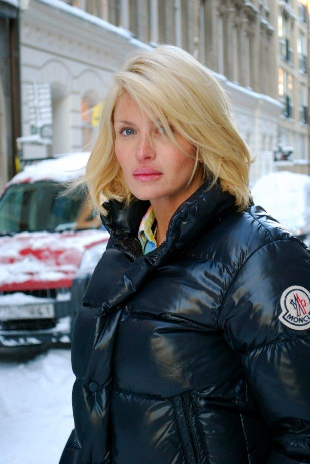 c0b7d7891 Carolina Gynning in Moncler