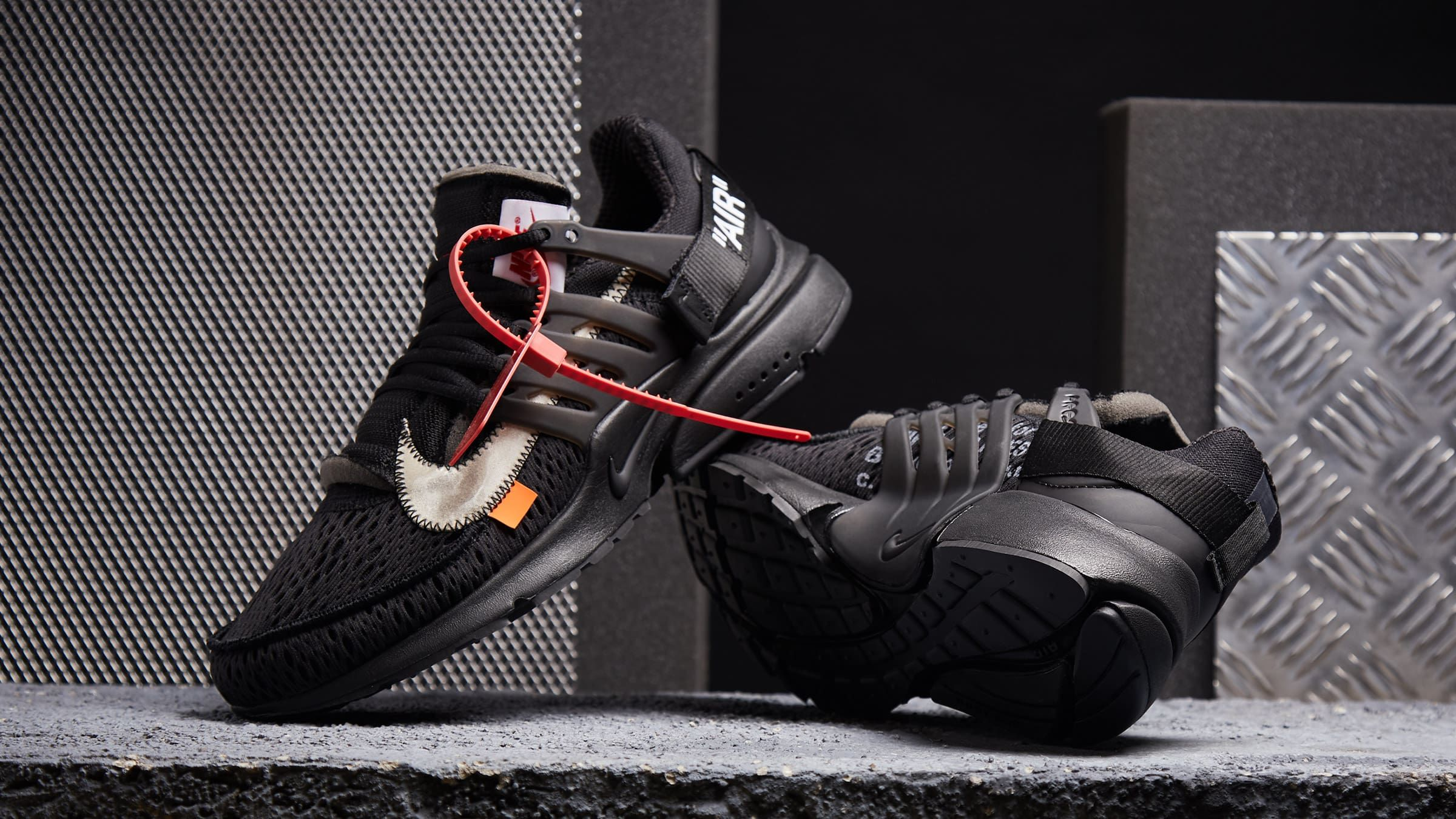 best sneakers 17ef3 b3157 Nike x Virgil Abloh The Ten  Air Presto  Black  AA3830-002