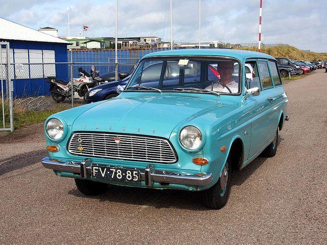Ford Taunus 12m Kombi 1965 Stationwagon Voertuigen Auto