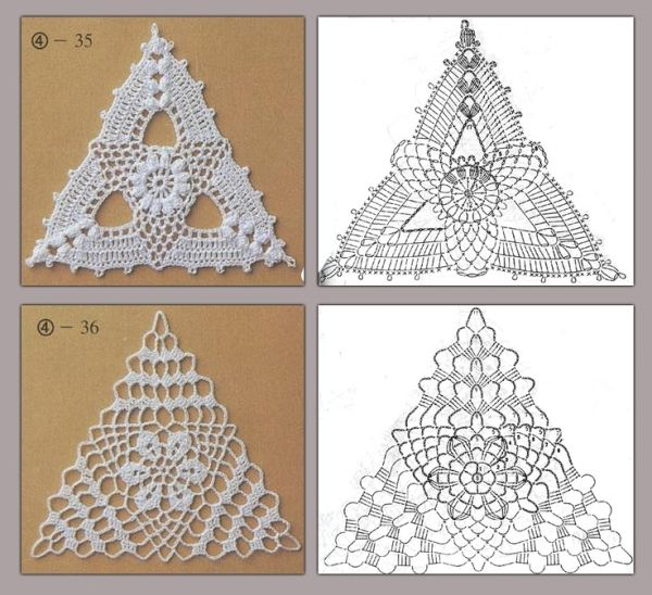 triangle crochet patterns   make handmade, crochet, craft by Taira Villanueva