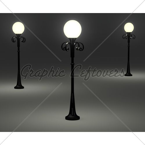 WAC: another simple lamp post.