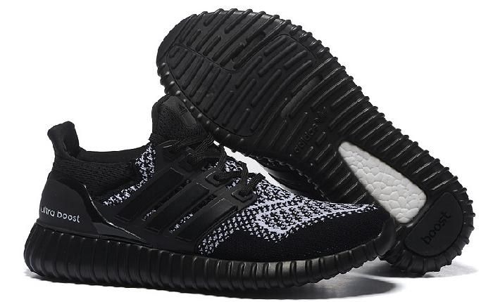 New Yeezy Ultra Boost Shoes Online Classic Black and White