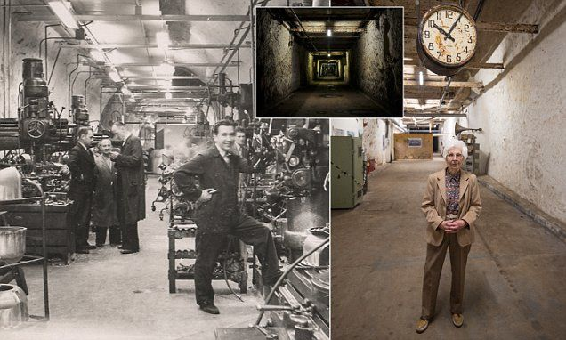 Wartime scientist revisits secret factory where she worked