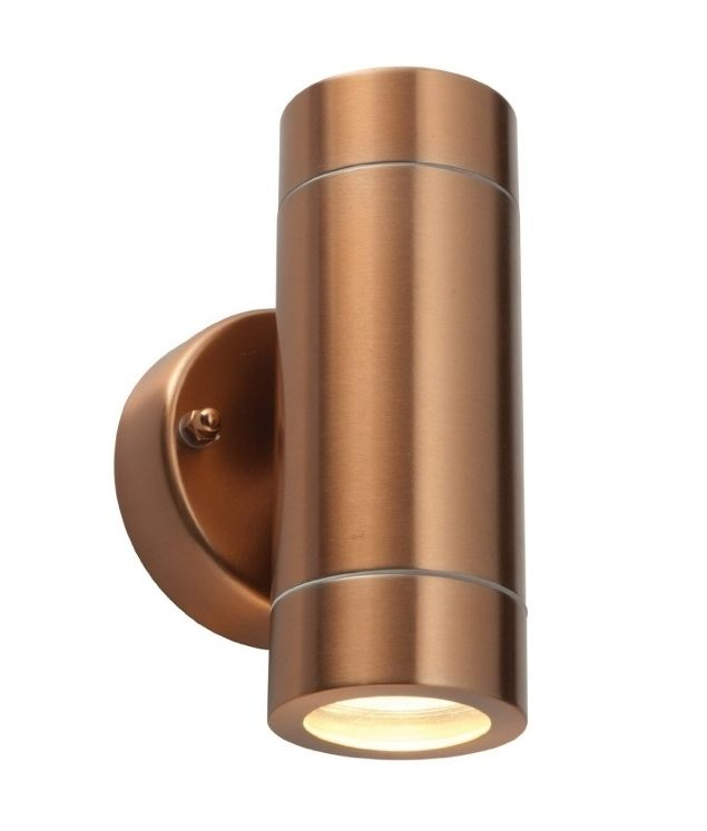 trendy lighting. trendy metal up and down exterior wall light lighting