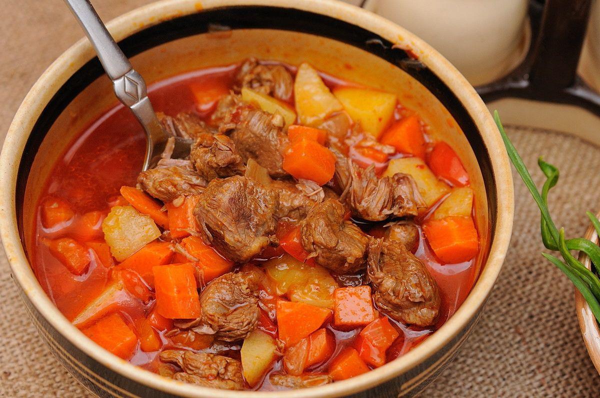 гуляш венгерский суп рецепт с фото