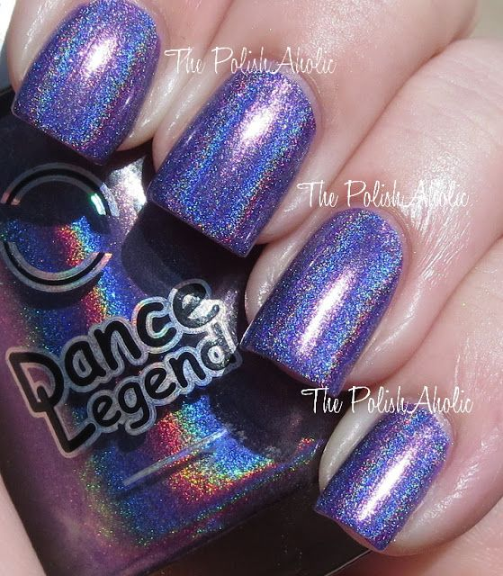 cosmic rainbow -  Dance Legend New Prisms Collection Swatches