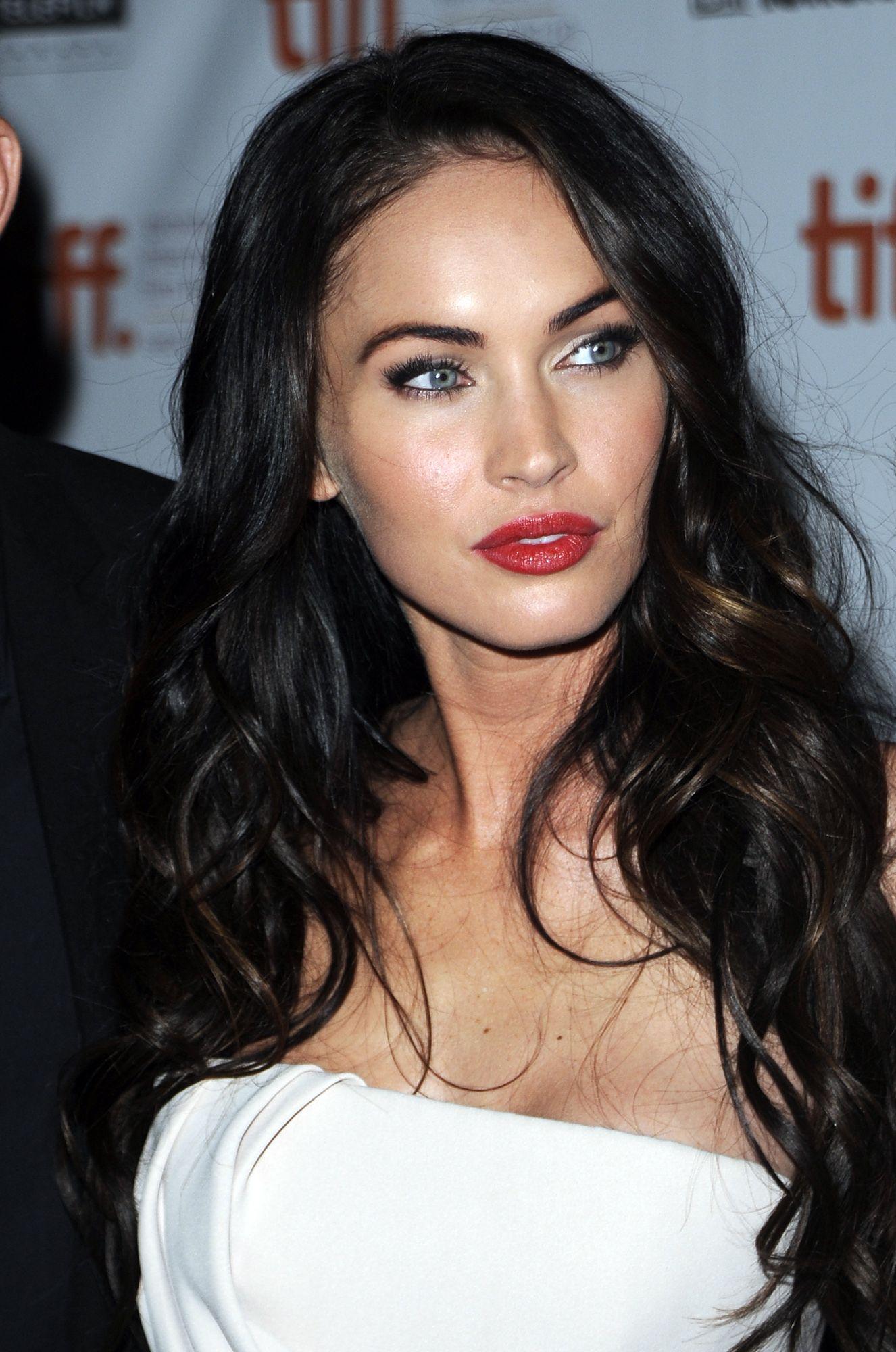 Megan Fox Megan Fox Hair Hairstyle Megan Fox