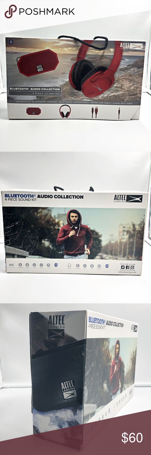 ALTEC Lansing | Bluetooth Collection 4 piece kit ALTEC
