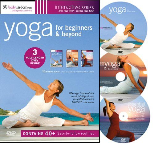 Yoga For Beginners Boxed Set Yoga For Stress Relief Am Pm Yoga For Beginners Essential Yoga For In Beginner Yoga Workout Yoga For Beginners Essential Yoga