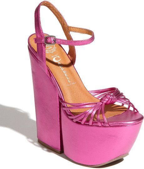 Jeffrey Campbell Pink Platform Sandal