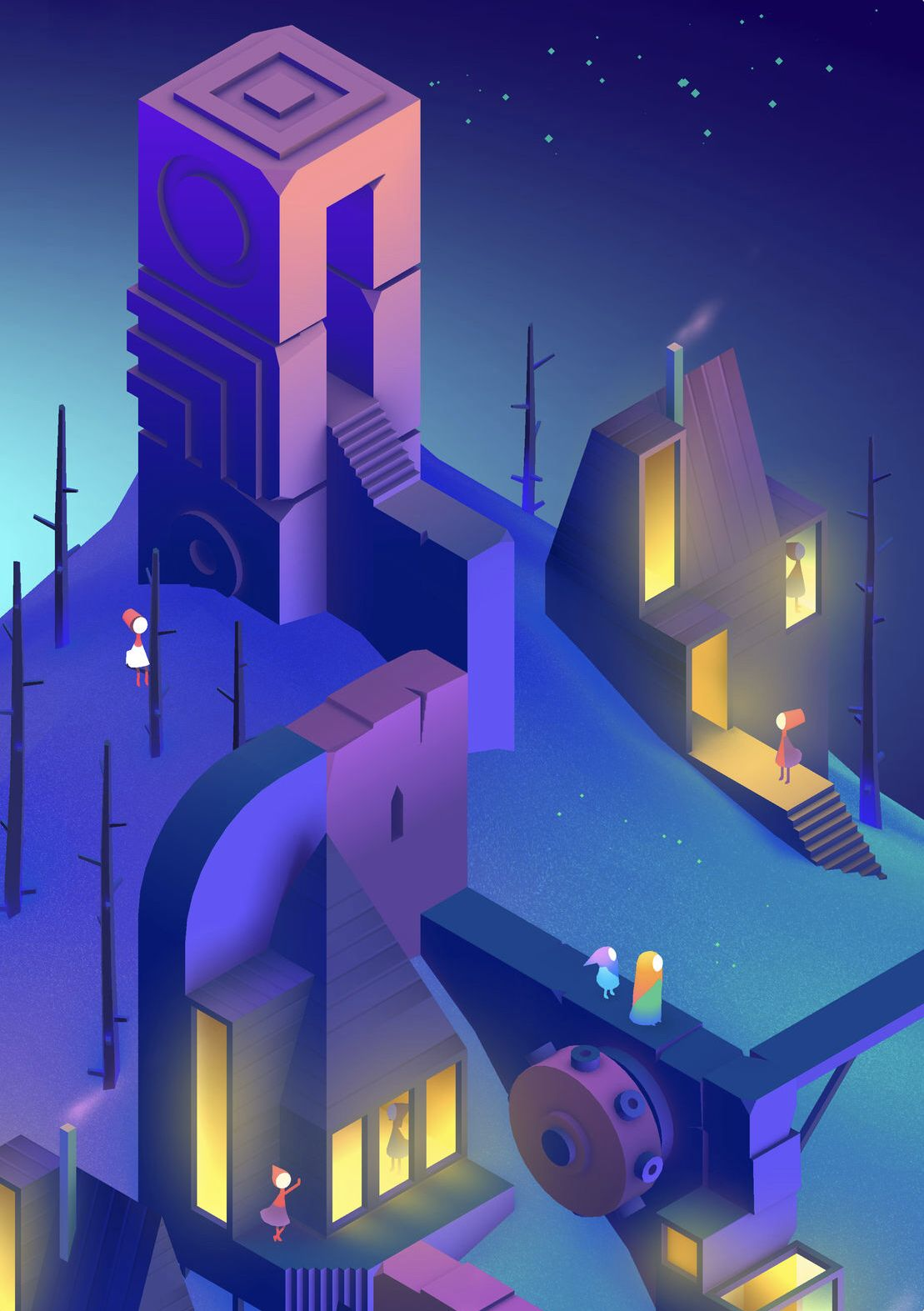 Potential Characters And Storyline For Mv2 Monument Valley 2