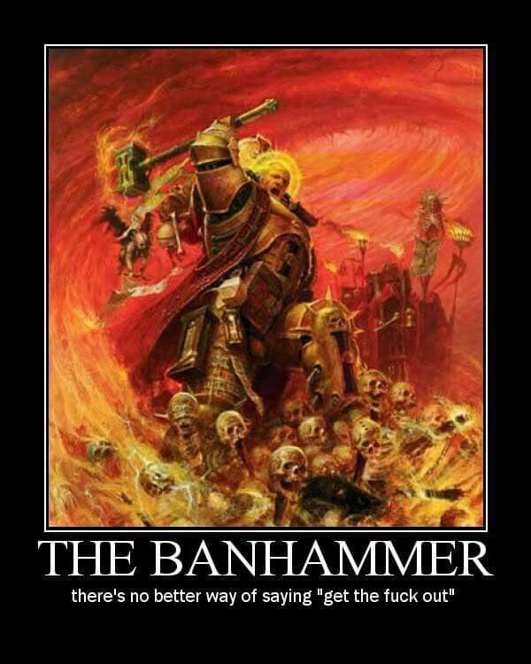 Ban Hammer Cyber Security Online Courses Continuing Education