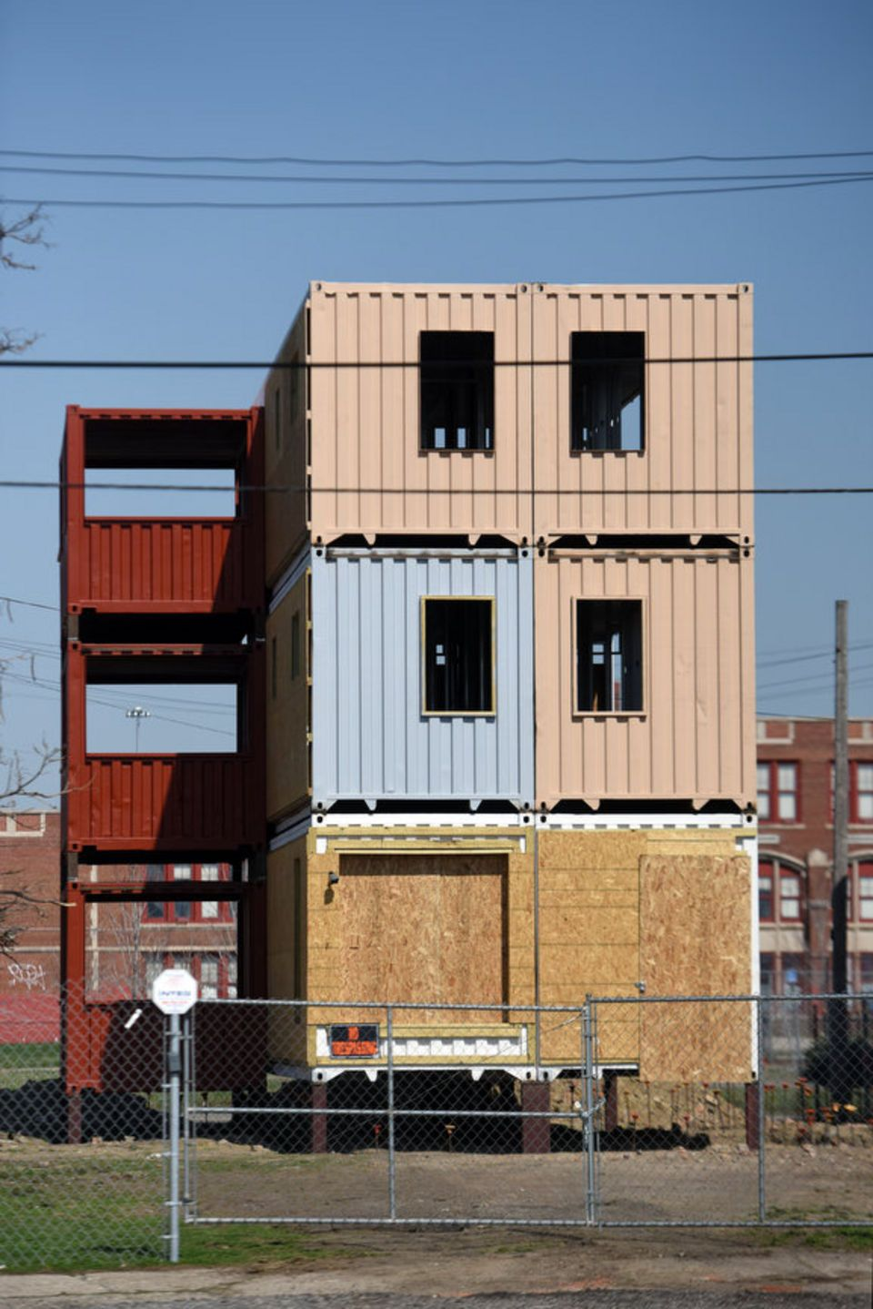 Building Made Of Shipping Containers Planned For Detroit S