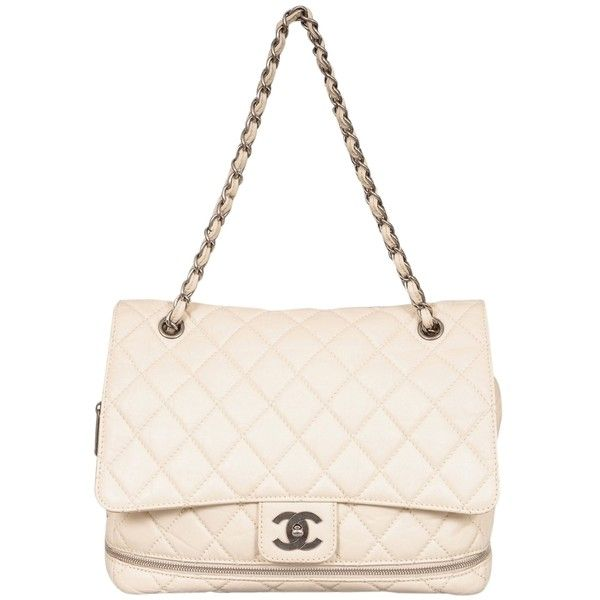 Pre Owned Chanel Paris New York Expandable Flap Shoulder Bag 1 577 Liked On Polyvore Featuring Bags Handbags Shoulder Chanel Chanel Paris Handbag Straps