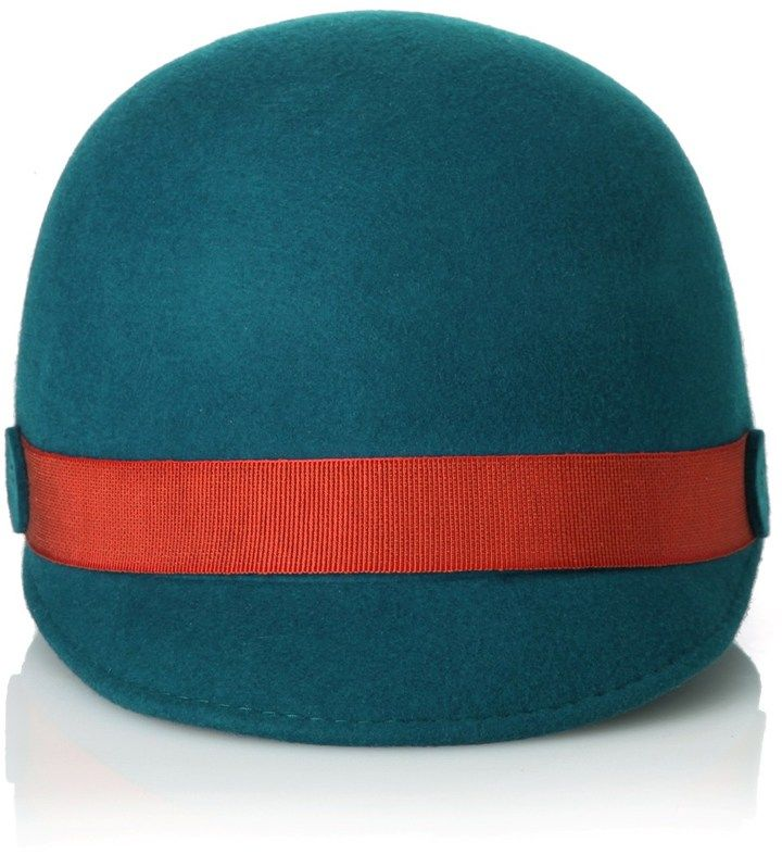 0380a82416b Antonio Marras Peacock Green Riding Hat on shopstyle.com