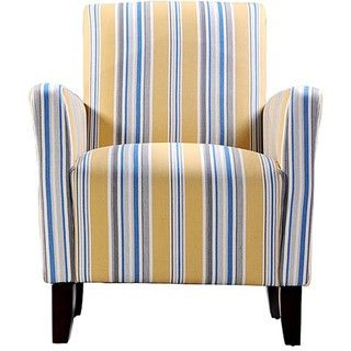 Magnificent Overstock Accent Chair Is Covered In Stripes Of Golden Gmtry Best Dining Table And Chair Ideas Images Gmtryco