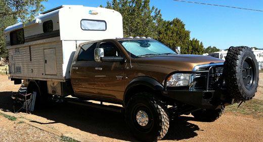 An Ultimate Alaskan Camper Rig Trucks Off Road Camper Trailer
