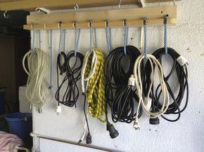 10 idées pour ranger l'atelier et le garage