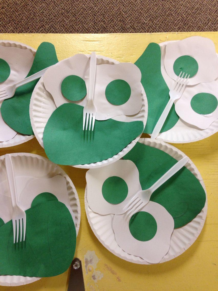 Green Eggs Amp Ham Craft My Bulletin Boards Preschool