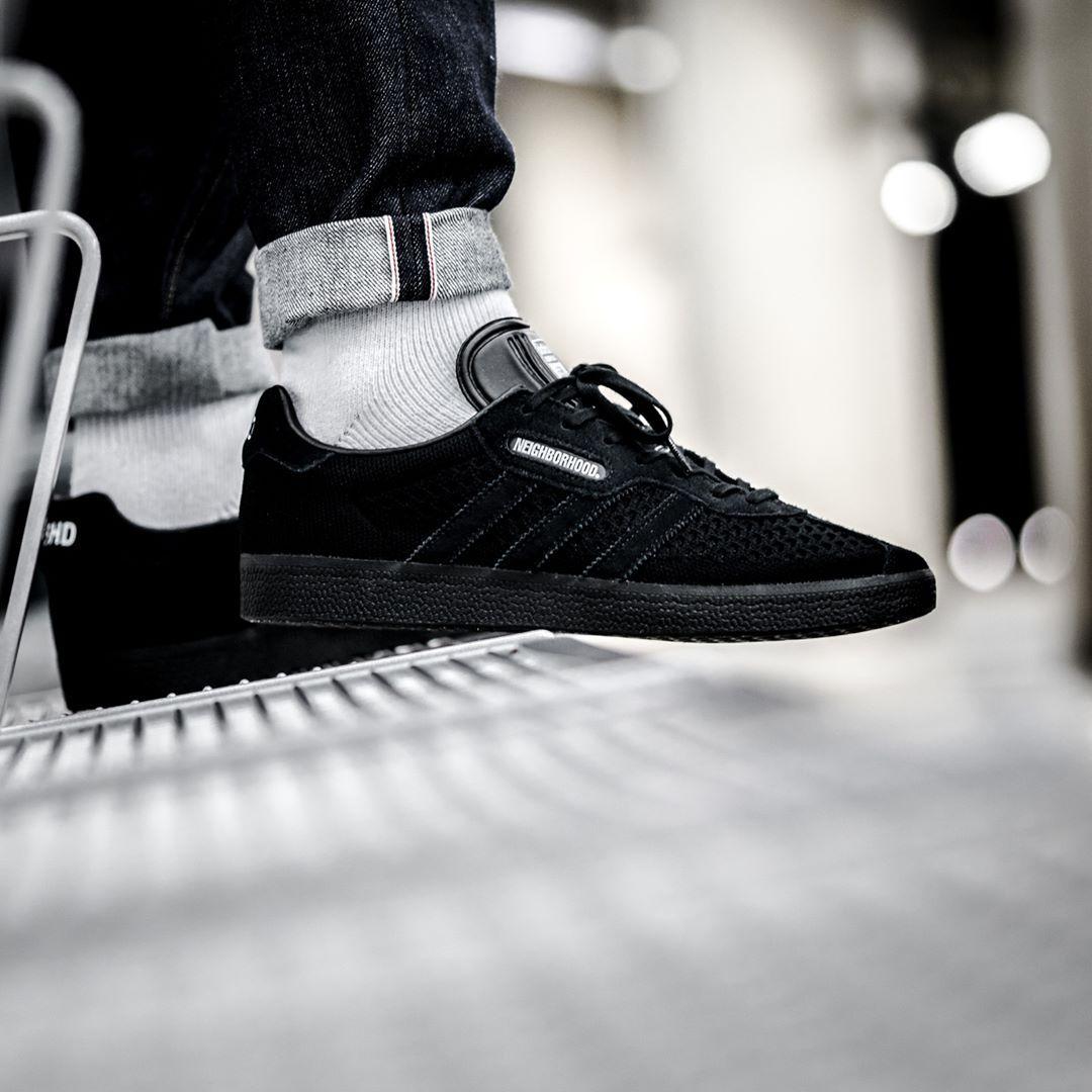 size 40 a277c da93a NEIGHBORHOOD x adidas Gazelle Super | adidas Sneakers | Adidas ...