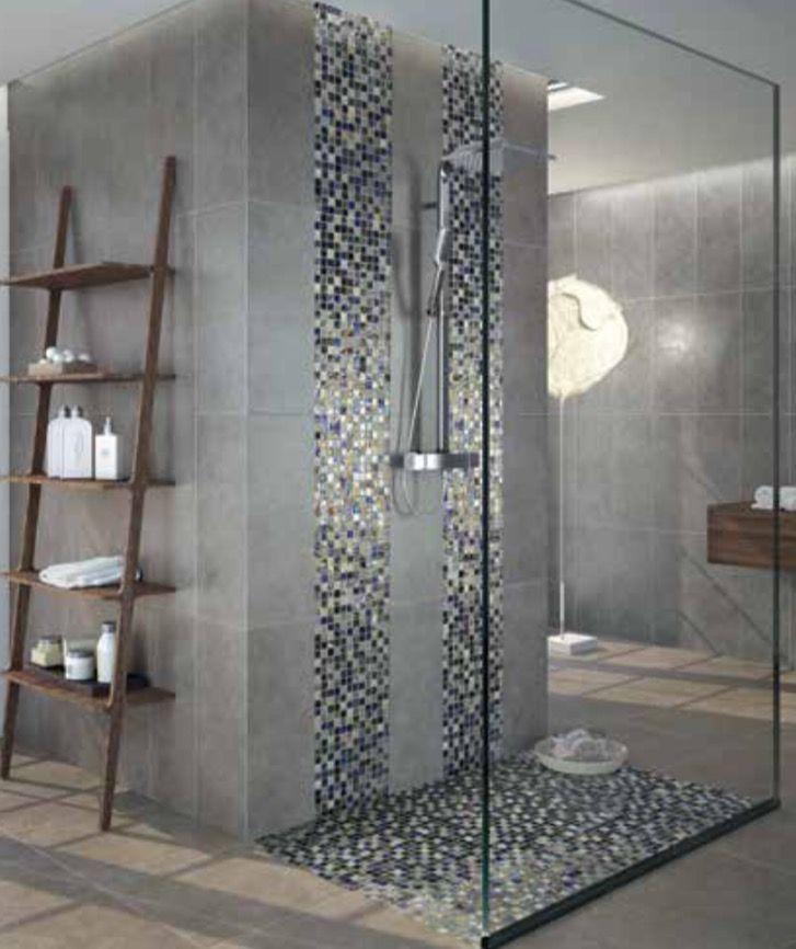 Gresite en frente de ducha | Baños modernos en 2019 | Baños modernos ...