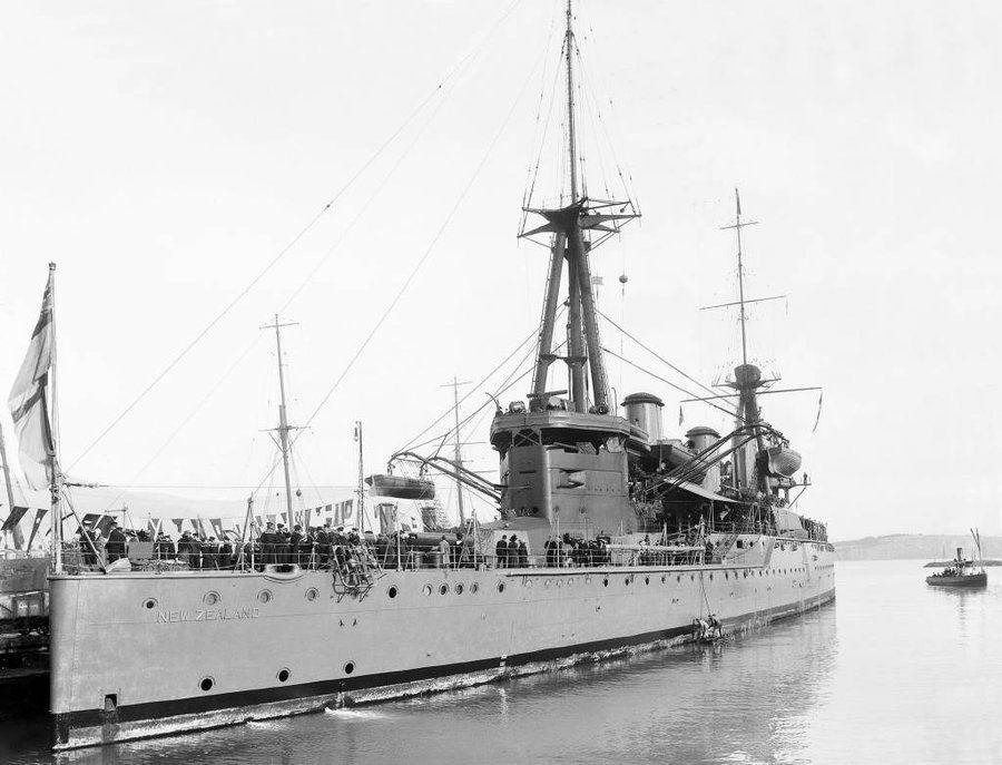 HMS New Zealand 1912