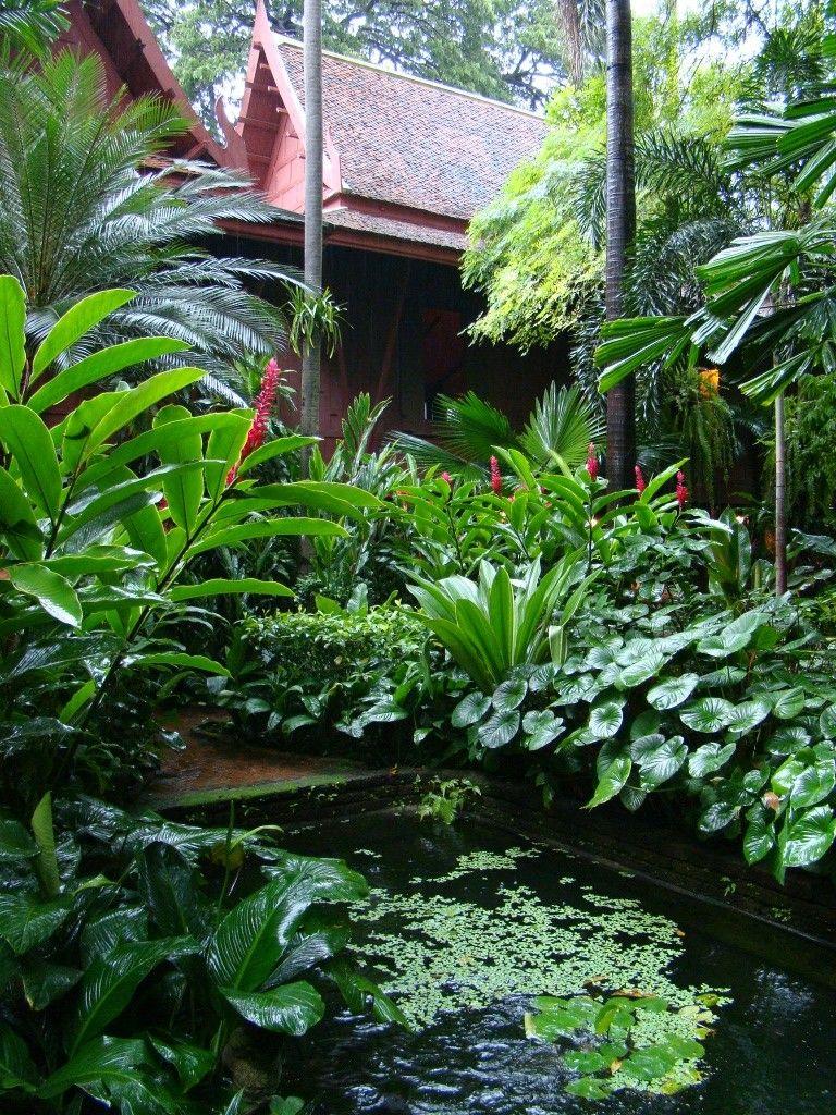 Garden @Jim Thompson House In Bangkok
