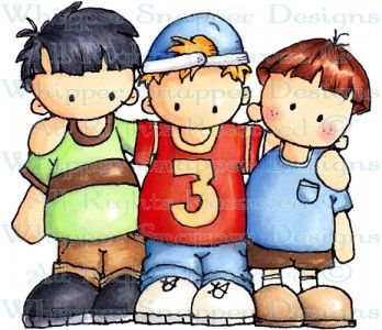 My Three Sons - Children - Rubber Stamps - Shop