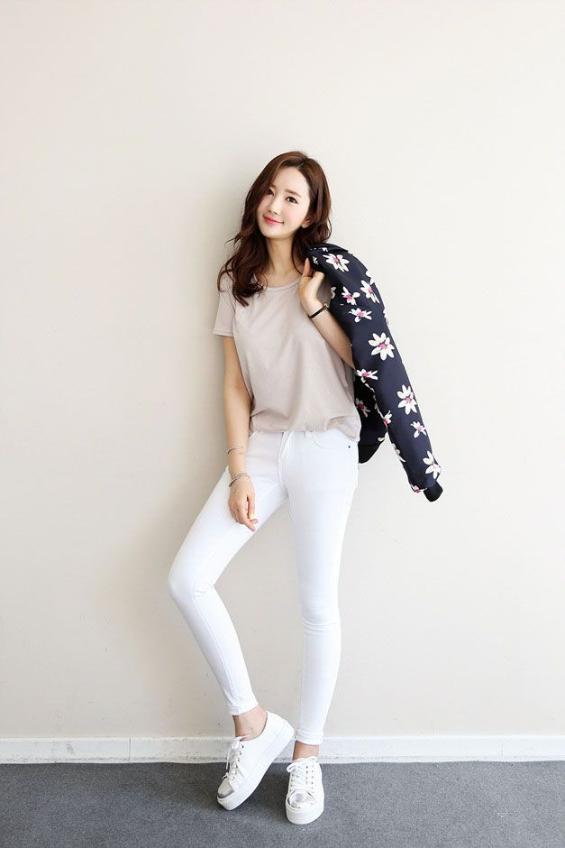 Basic Skinny Jeans 8Cs. 2016 Korean FashionKorean Fashion UlzzangFashion