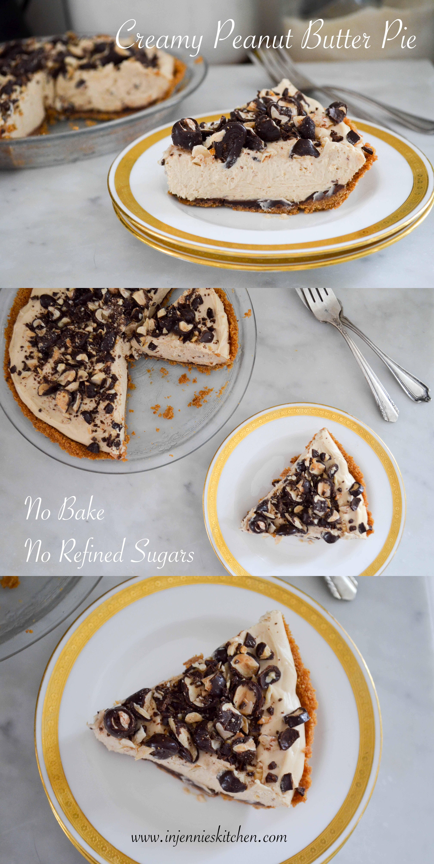 Creamy Peanut Butter Pie Recipe Peanut Butter Pie Recipe No