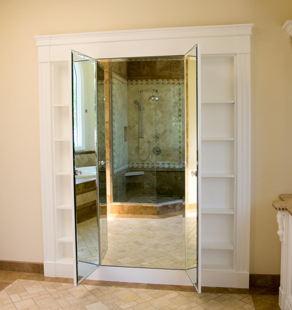Three Way Mirror Bathroom | Bathroom decor accessories ...