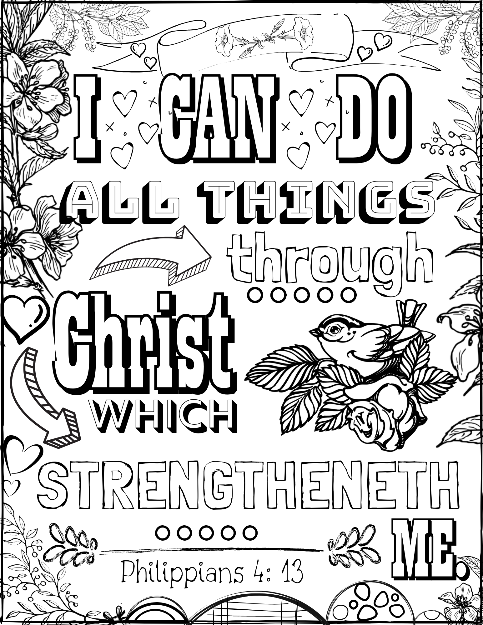 Stroke Coloring Pages