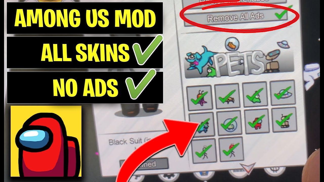 Among Us Free Skins No Ads Best Among Us Mod Ios Android Apk Free Amazon Products Amazon Gift Card Free Online Video Games