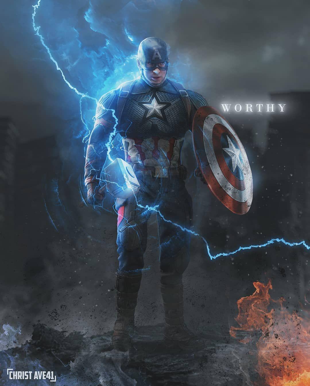 Dessin Captain America
