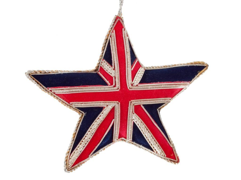 Union Jack Tattoos London Christmas Heart Decorations