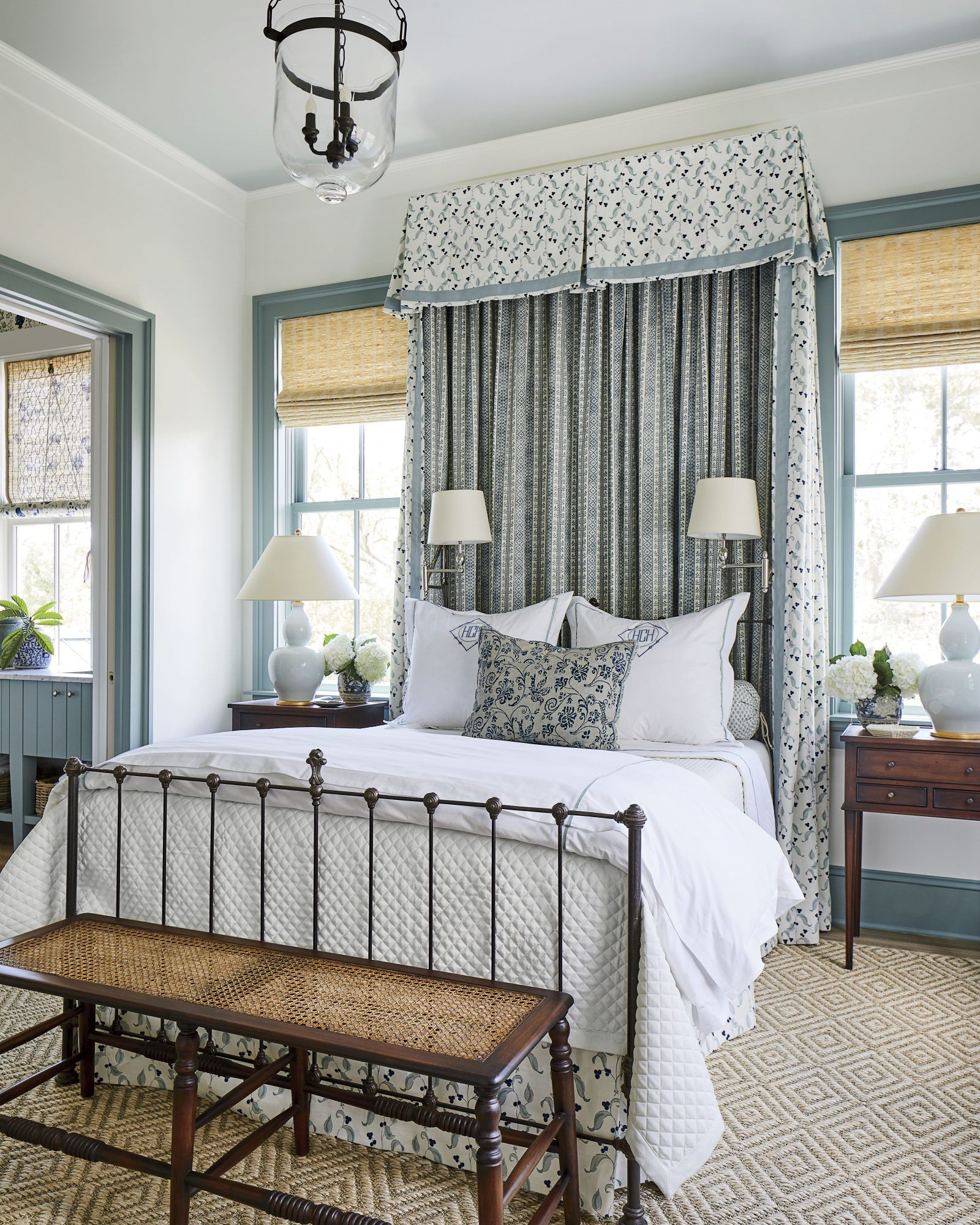 How To Make Your Bed Like A Decorator In 2020 Southern Living Homes Home Decor Styles Calming Bedroom Colors