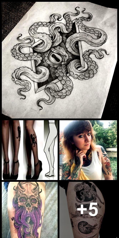 Photo of 60 Octopus Tattoo Designs, die jeden Cent wert sind – Tattoos – #Each #cen …