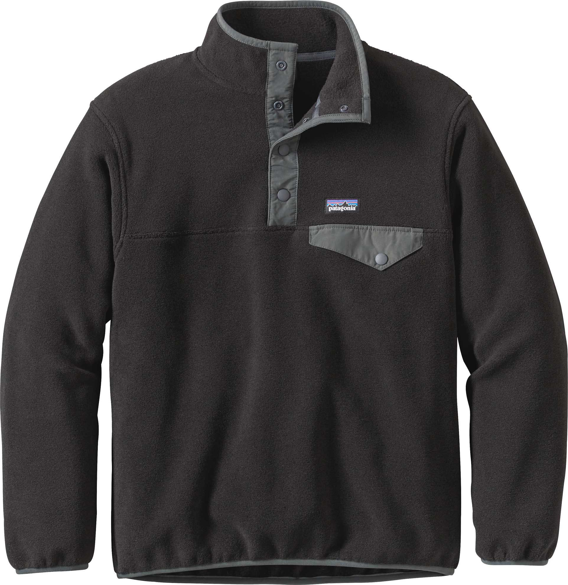 Patagonia Boys Lightweight Synchilla Snap T Fleece